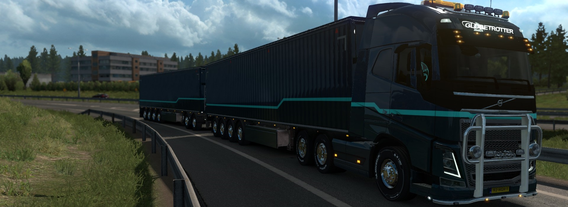 Euro Truck Simulator 2 - Can you handle this length?