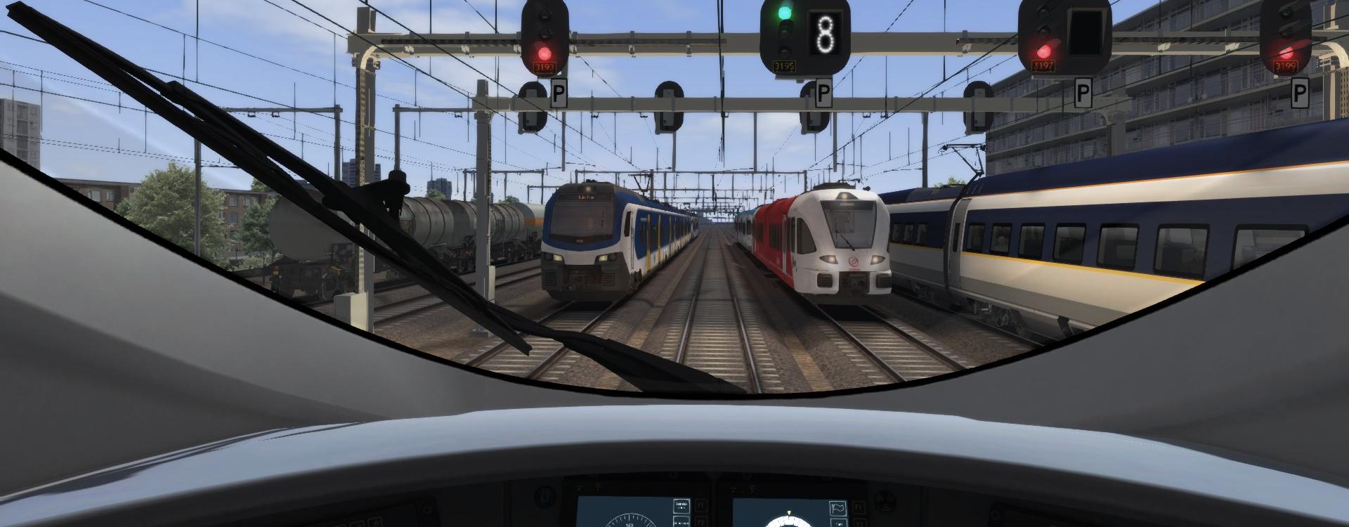 It's busy at Krammendijk Centraal!